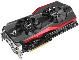 Carte graphique Asus GeForce ROG Matrix GTX 780 Ti Platinum | 3Go GDDR5, PCIe 3.0, DVI, HDMI, DP
