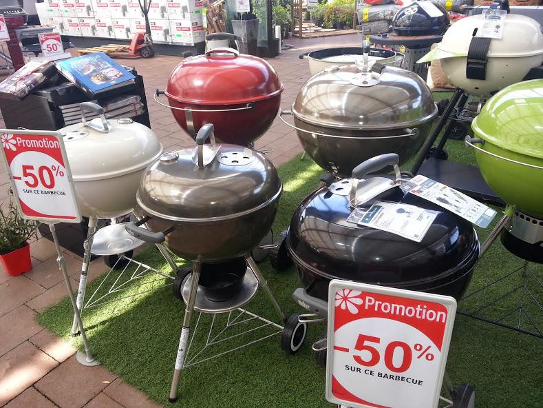 Barbecue Weber One Touch 47 cm (et autres références)
