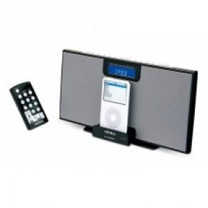 Radio réveil avec station d'accueil pour iPod Akira IPC-B32 Tuner FM/AM (retrait possible en magasin)