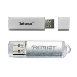 Pack Clef USB Intenso Line 64 Go 2.0 + Clef USB 2.0 Patriot Xporter Pulse 32 Go