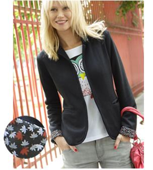 Une veste mode offerte pour toute commande