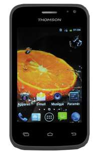 Smartphone Thomson Every 35 - Android 4.2, Double Sim, Noir ou Blanc