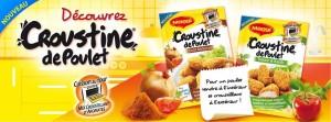 [5 Sept.] 10 000 échantillons gratuits croustine de poulet