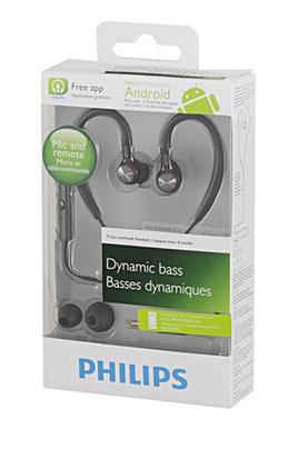 Écouteurs intra-auriculaire tour d'oreille Philips SHS 8105/A
