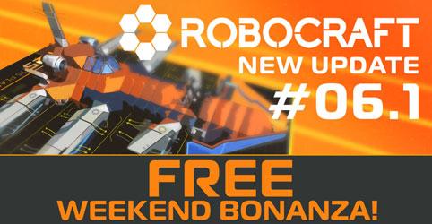 Week-end Premium gratuit sur Robocraft sur PC