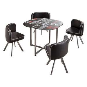 Set table + 4 chaises Town