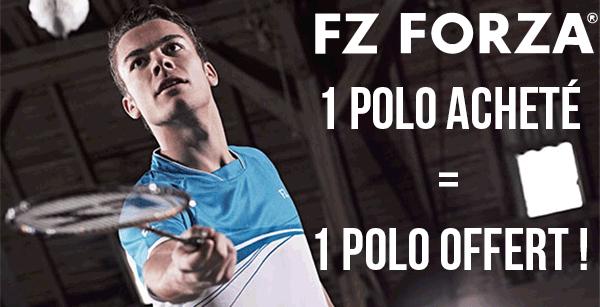 Badminton - Tennis 1 polo acheté = 1 polo offert