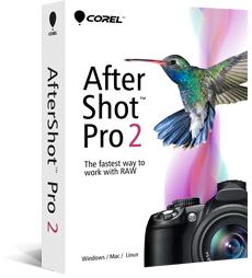 Logiciel Raw Corel AfterShot Pro 2 gratuit sur Mac (au lieu de 49.99€)