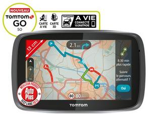 GPS multi-usage Tomtom GO 50 Europe 45 - cartographie à vie