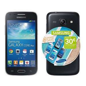 Smartphone Samsung Galaxy Core Plus (20€ sur carte + ODR 30€)
