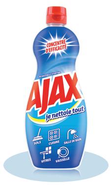 Nettoyant Ajax je nettoie tout 100% remboursé