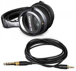 Casque M-Audio studiofile Q-40 Circum-oral fermée