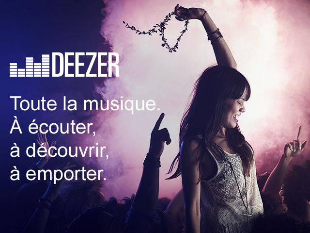 Abonnement Deezer Premium+ (pendant 3 mois)
