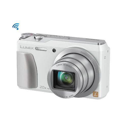 """Appareil photo Panasonic TZ55 (Capteur CMOS 16 Mpx - Zoom optique 20x - Grand angle 24 mm - Wifi - Ecran 3"""" orientable)"""