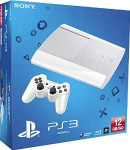 Console PS3 Ultra slim 12 Go blanche