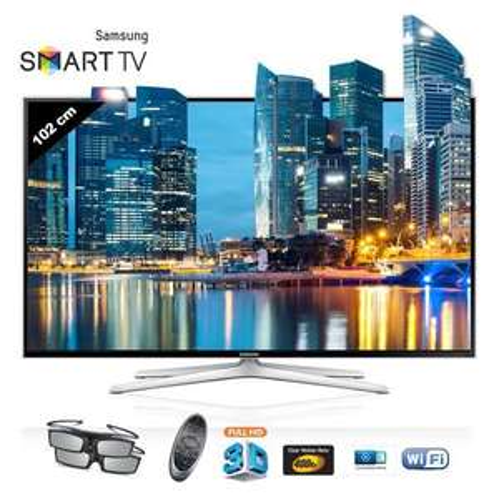 "Téléviseur 40"" Samsung UE40F6400 Smart TV 3D + câble HDMI"