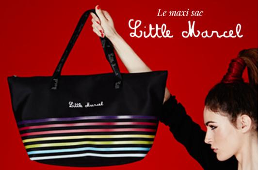 Maxi sac Little Marcel 60 cm offert pour toute commande