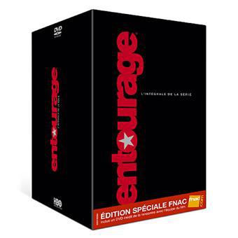 Coffret DVD Entourage intégrale saisons 1 à 8 édition spéciale