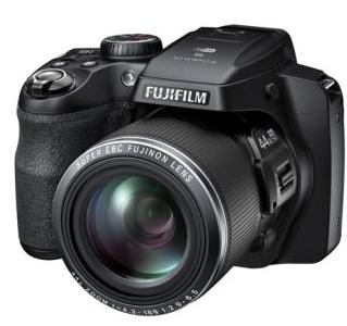Appareil photo  Bridge FinePix Fujifilm S8400W avec Wi-Fi en Noir