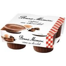 Crèmes Bonne Maman à la Vanille / Chocolat (via Shopmium)