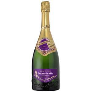 Lot de 2 bouteille de champagne Brut Demoiselle