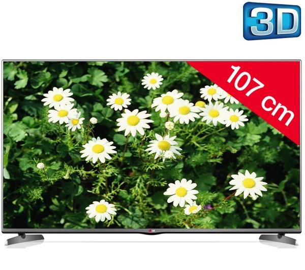 """Téléviseur 42"""" LG 42LB6200 Full HD LED 3D 107 cm"""