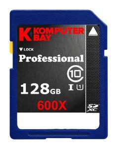 Carte mémoire Komputer Bay SDXC 128 Go
