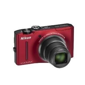 Appareil photo numérique Nikon Coolpix S8100 Rouge