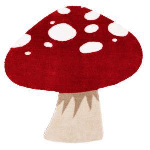 Tapis en forme de champignon 70x70