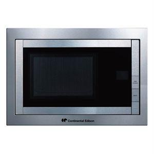 Micro-ondes encastrable Continental Edison MO20UX59BI - 20L - Puissance 800W
