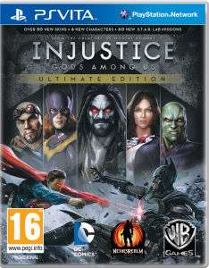 Injustice: Gods Among Us - Ultimate Edition PS Vita