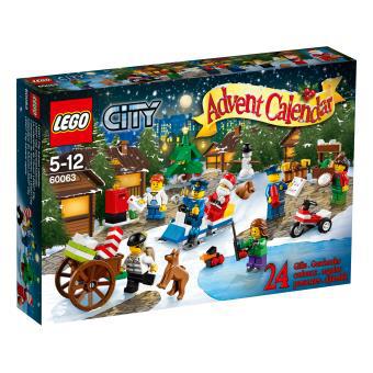 Le calendrier de l'Avent Lego City 60063 et Star Wars