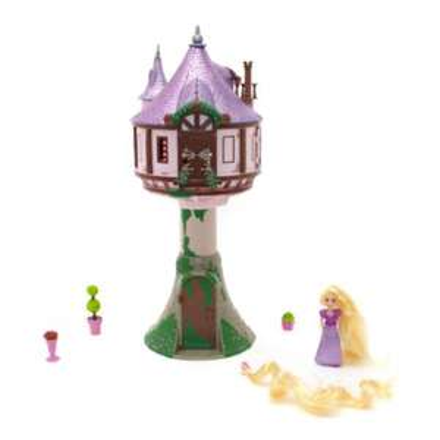 Ensemble tour et poupée miniature Raiponce