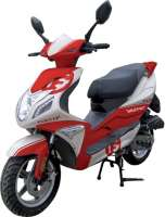 Scooter 50 cm3 Furtif Rouge