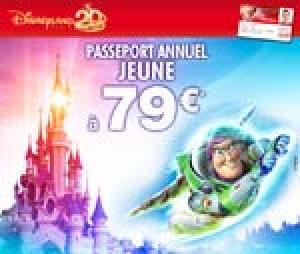 Disney passeport annuel francilien