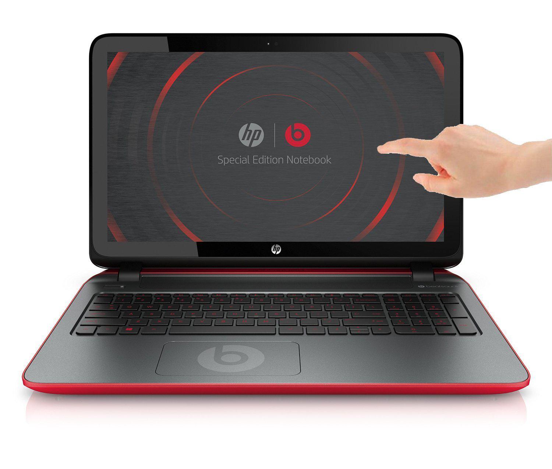 "PC Portable tactile 15"" HP Pavilion Beats Special Edition 15-p011nf - AMD A8, 4 Go de RAM, 1 To, Windows 8.1"
