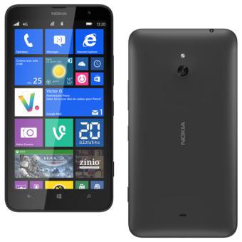Smartphone Nokia Lumia 1320 Noir + Bracelet Fiitbit Flex (via ODR)