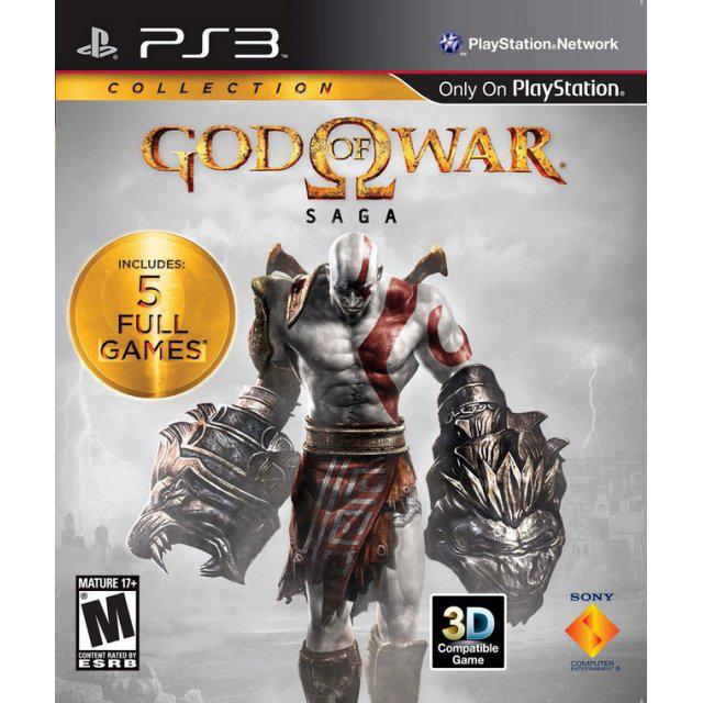 God Of War SAGA : 5 Jeux sur PS3