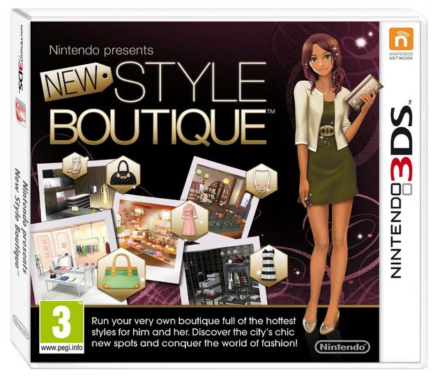 La nouvelle maison du style sur Nintendo 3DS (import UK)