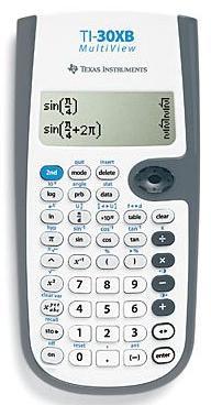 Calculatrice scientifique TI-30XB MultiView