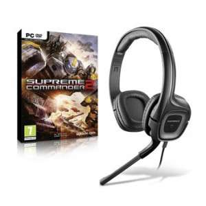Casque micro PC Plantronics audio 355 + Jeu Supreme commandander 2 offert