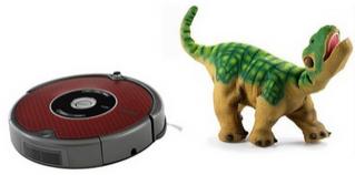 Irobot Roomba 625 Pro + Robot Pleo offert (valeur 150€)