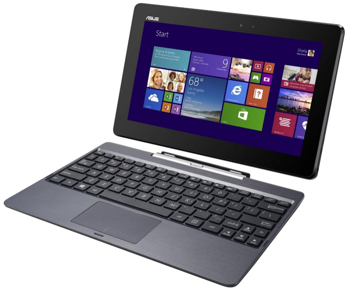 """Tablette Asus Transformer Book T100TA-DK002H 10"""" 32 Go avec clavier - Reconditionné - QWERTY"""