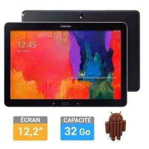 "Tablette Samsung Galaxy Note Pro Noire 12.2"" Wifi 32 Go (ODR 100€)"