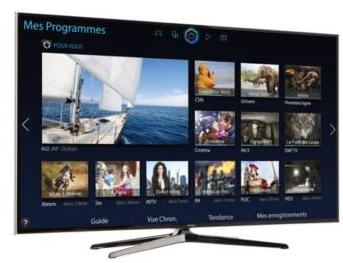 "Téléviseur 55"" Samsung UE55H6400 - 3D 400 Hz CMR - Full HD"