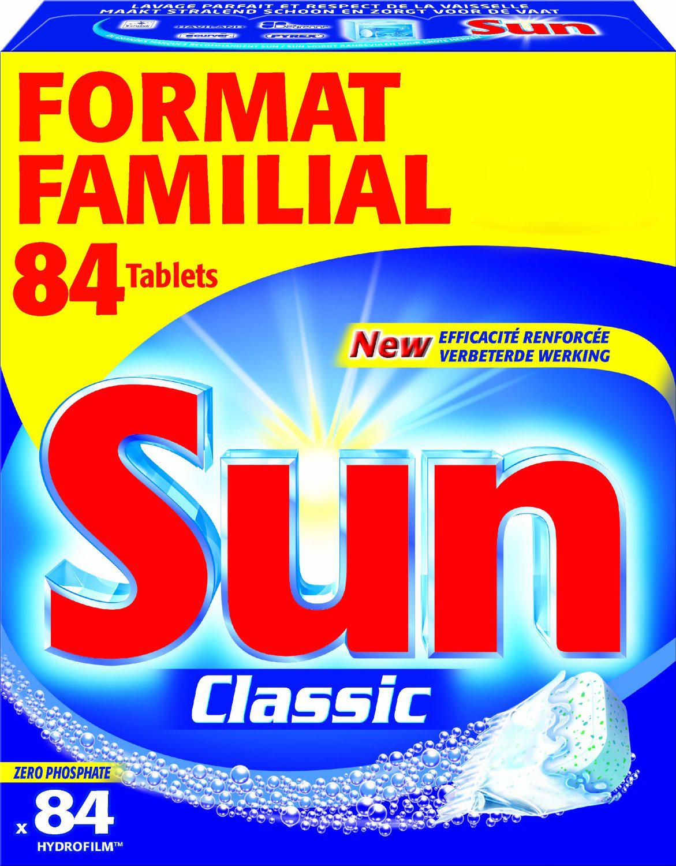 [Panier Plus] Pack 84 Tablettes Lave Vaisselle Sun - format familial