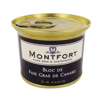 Bloc de foie gras de canard Montfort à -75% (sur carte Waaoh)