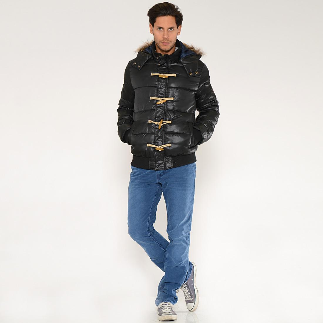 Jusqu'à -70% sur une sélection de vêtements Kaporal + 10% Supplémentaire + Livraison Gratuite - Ex : Doudoune Zooka Noire