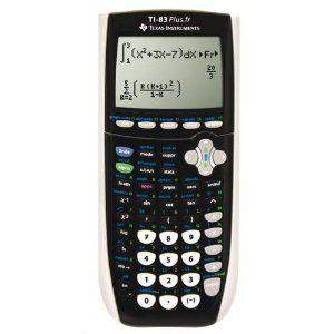 Calculatrice graphique Texas Instruments S TI 83Plus.Fr (avec ODR de 10€)
