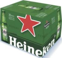 (MAJ) Pack de bière 20 x 25 cL Heineken